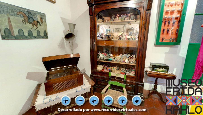 Aos que já visitaram a Casa Azul pessoalmente, o tour virtual serve como recordação aos encantos que a casa traz.