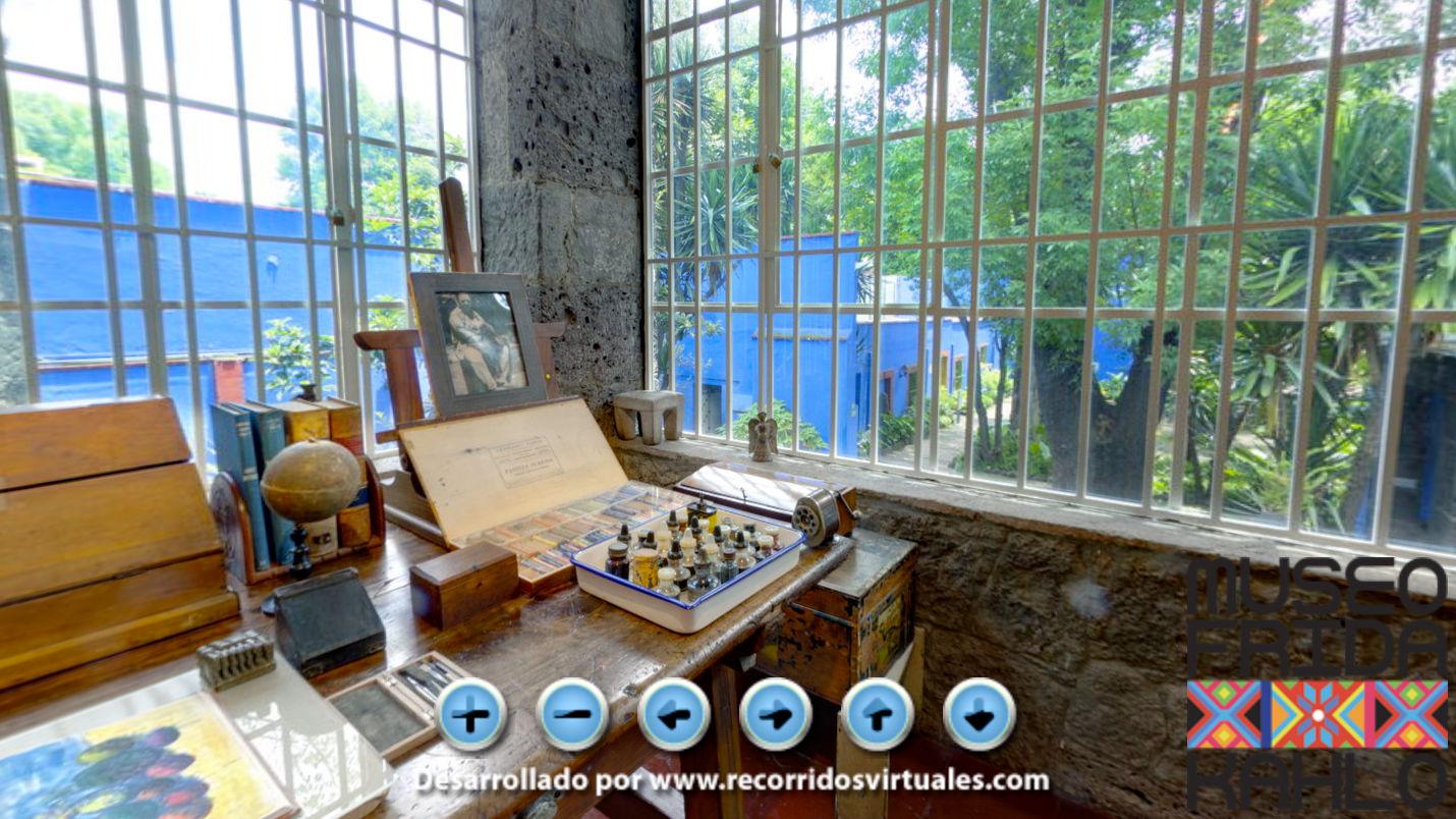 Um dos museus mais visitados da Cidade do México, mostra a intensa relação entre Frida, seu trabalho e sua casa