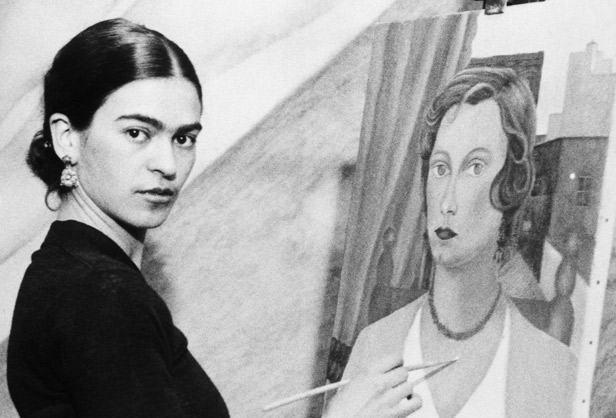 Durante a sua curta vida, Frida Kahlo pintou 143 quadros.