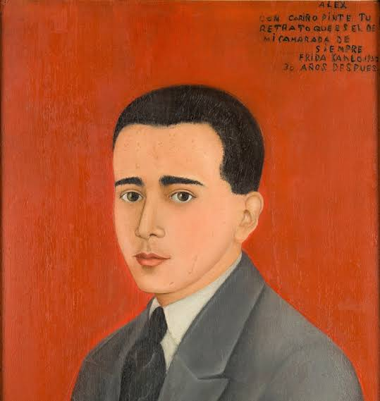 O primeiro amor da vida de Frida Kahlo foi o líder dos Cachuchas, Alejandro Gómez Arias.