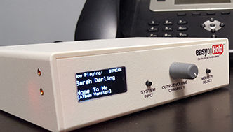 2 Channel Business Audio System for Cisco Music On Hold