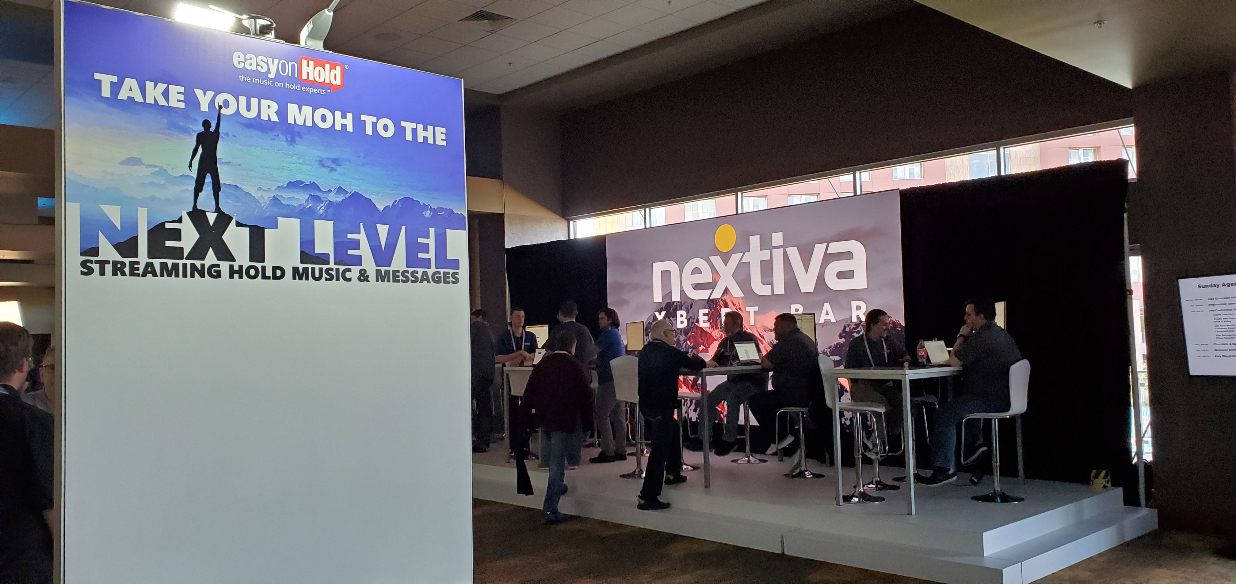Easy On Hold at Nextcon