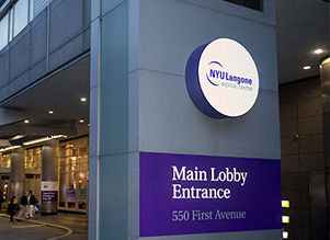 healthcare: Easy On Hold phone messages customer NYU Langone Medical Center