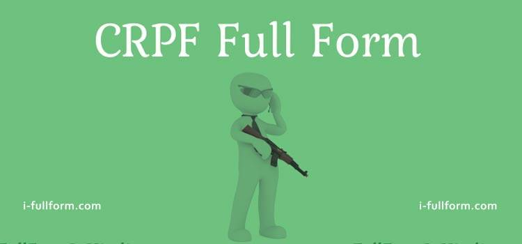 CRPF Full Form - How many Ranks are there in CRPF?
