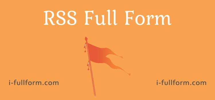 RSS Full Form  - How to become a member of RSS?