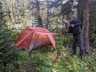 Great Divide Trail: Section F and a Major Tent Mishap