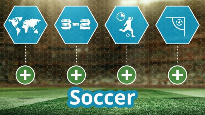 Soccer Odds Comparisons, Team Statistics, Live Scores and More New on HitYah!