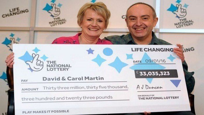 Scottish Couple Wins Biggest Lotto Jackpot in the UK