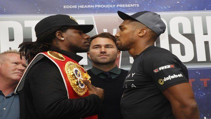William Hill Sports to Sponsor Joshua vs. Martin Boxing Match