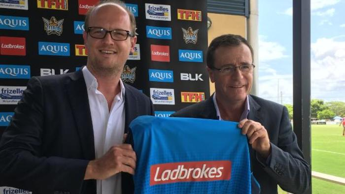 Gold Coast Titans Kicks Off Season with Ladbrokes Sponsorship