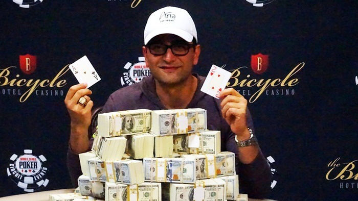 Antonio Esfandiari Wins 2016 WSOPC Bicycle Casino