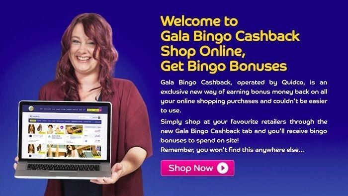 Earn Bingo Bonuses with Gala Bingo's New Cashback Tab