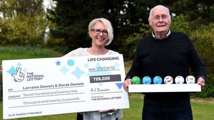 Family from Whittlesey Celebrate Lottery Win