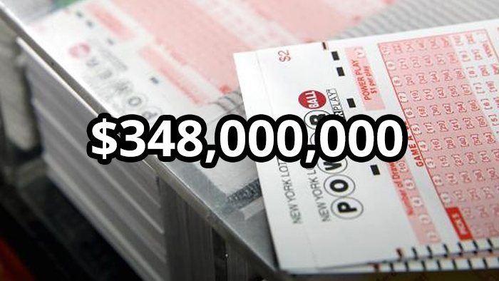 Jackpot Lottery Ahoy! US Powerball Hits $348 Million! 4 May 2016