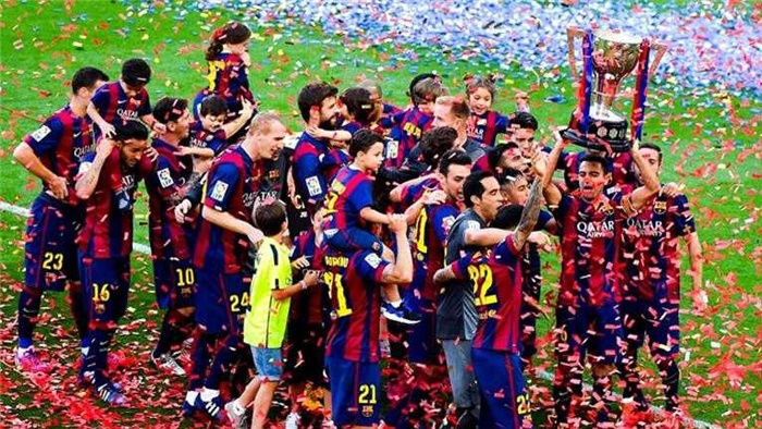 Barcelona Claim La Liga Title with Win!