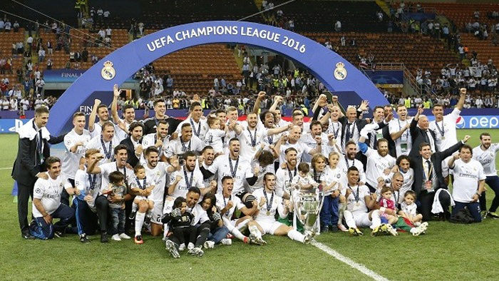Real Madrid Win 11th Champions League Final