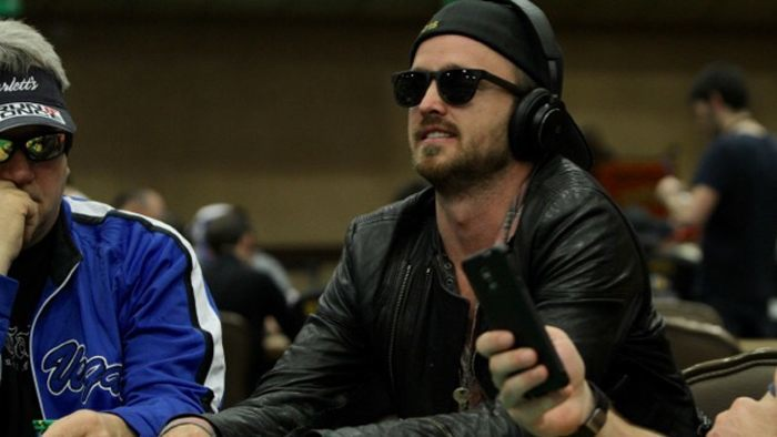 Actor Aaron Paul Wins His First Global Poker League Match