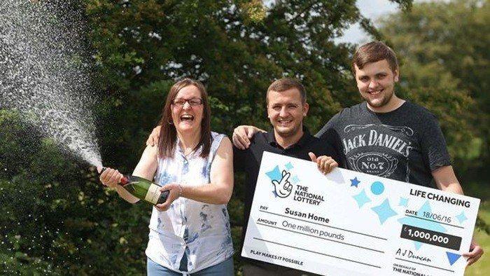 Mum from Middleton Wins £1 Million UK National Lottery Jackpot