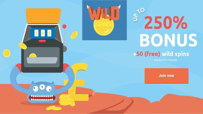 Enjoy Great Bonuses at Brand New Casino Wild Spins