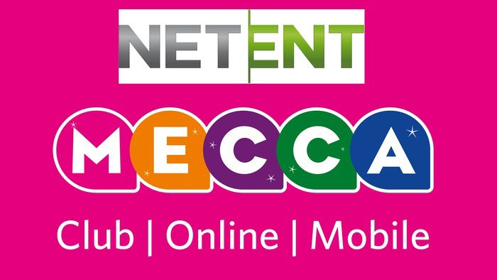 NetEnt Slots Launch on Mecca Bingo