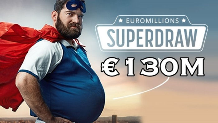 EuroMillions Superdraw is Back With a €130 Million Jackpot!