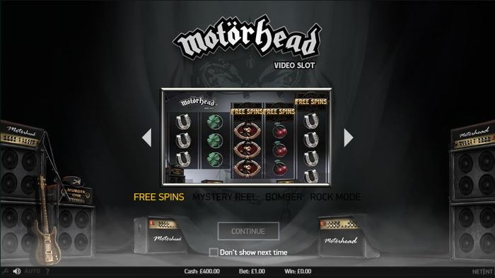 NetEnt Releases New Rock Music Themed Game – Motorhead Slots
