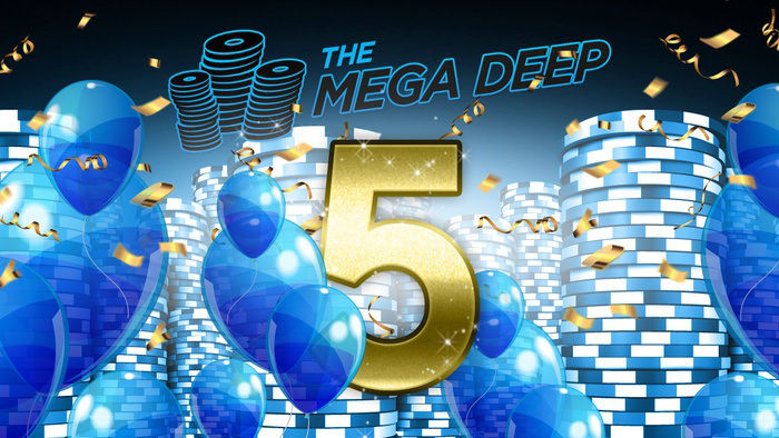 Guaranteed $500,000 Prize at 888 Poker's Special Mega Deep Anniversary Event