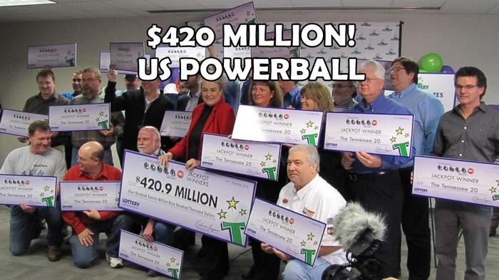 20 Workers from Tennessee Win the $420 Million Powerball Jackpot