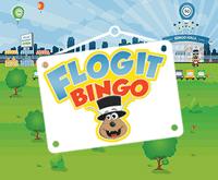 Flog It Bingo Logo