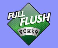 Full Flush Poker Logo