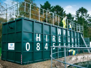 Image of WPL hire options for sewage and wastewater treatment systems