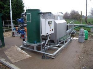 WPL Microscreen 10 BMF 10 skid mounted plant