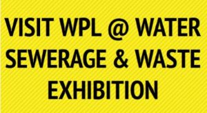 Image of the Belfast & Dublin Water Sewerage and Waste Exhibition information where WPL will be exhibiting wastewater and sewage treatment systems