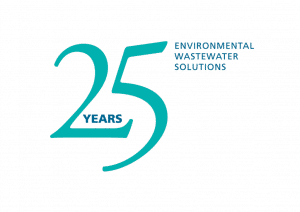 Image of WPL celebrates 25 years logo in 2016 as an international environmental solutions provider for commercial and industrial effluent market