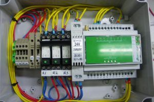 Image of GSM Alarm, optional extra for a sewage and wastewater system as provided by WPL
