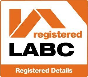 Image confirming that WPL, wastewater and sewage treatment specialists, are LABC Registered