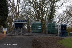 Temporary Sewage Treatment Plant for Scottish Water