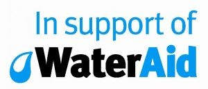 Image of Water Aid Logo, the chosen charity for WPL sewage and wastewater treatment specialists