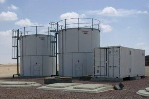 sewage treatment at Oil and Mining sites