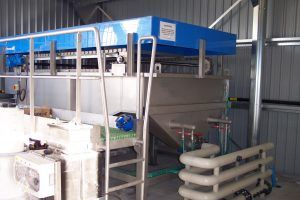Image of Fish Farm effluent treatment plant