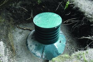 Image of WPL Diamond installation for domestic off mains drainage