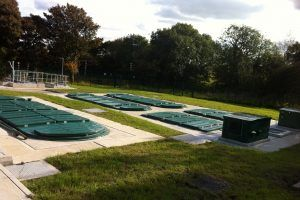Image of modular WPL HiPAF® sewage and wastewater treatment plant for off mains drainage