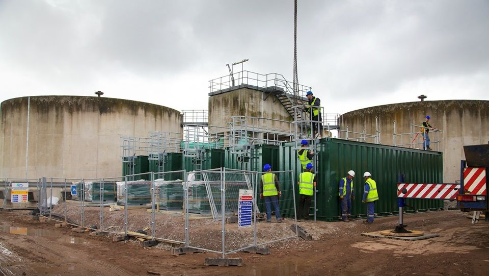 Huyton-final-installation-of-wpl-transportable-packaged-sewage-treatment-plant