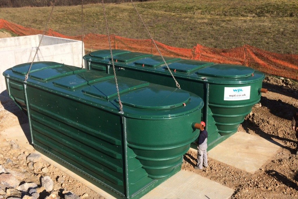 the-second-hipaf-sewage-treatment-unit-is-lowered-on-site-in-zdenska-vas-slovenia