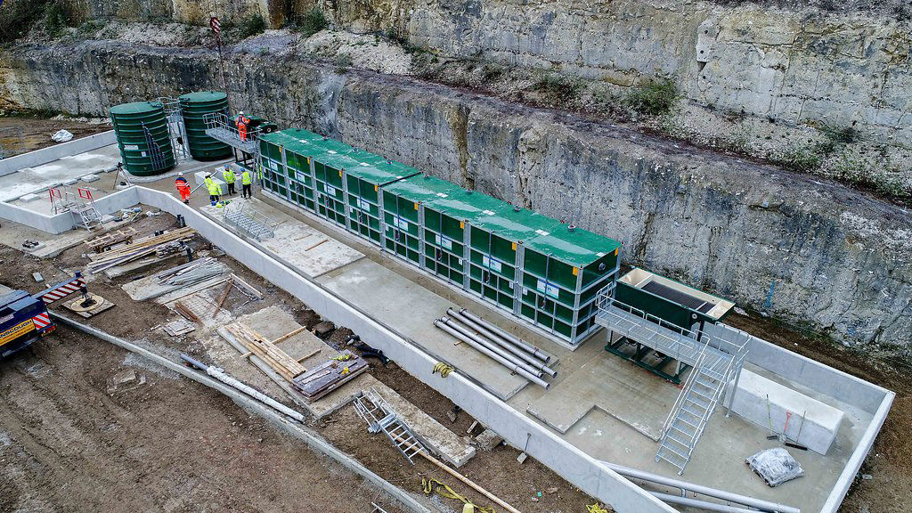 WPL Hybrid-SAF™ at Ebbsfleet Castle Hill