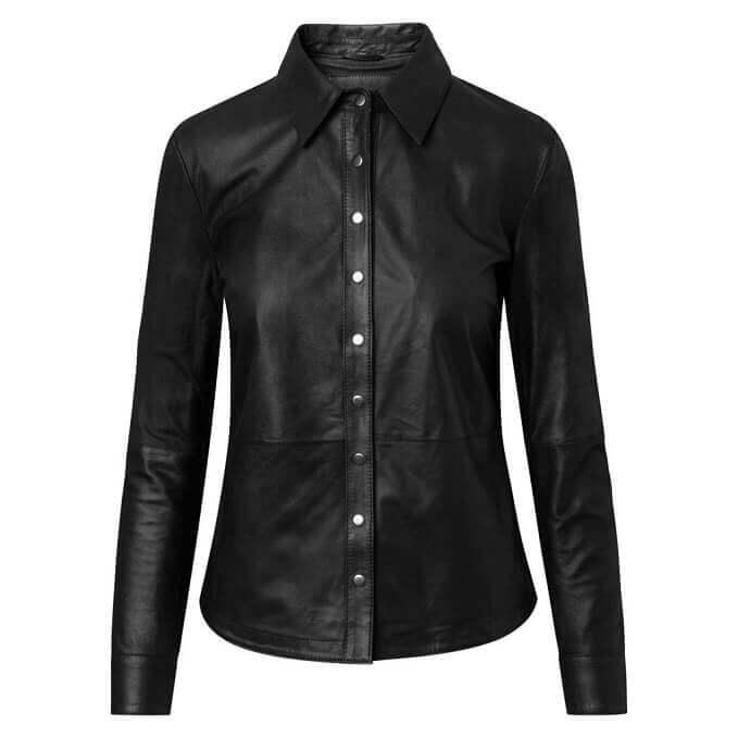 Leather Shirts Designs #SRW004
