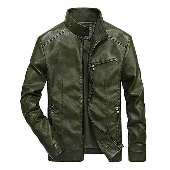 Men Leather Jackets Designs #JAM002