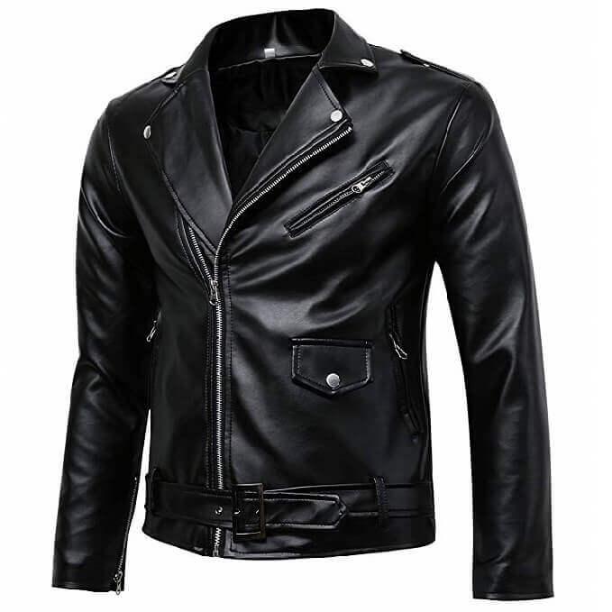 Men Leather Jackets Designs #JAM003