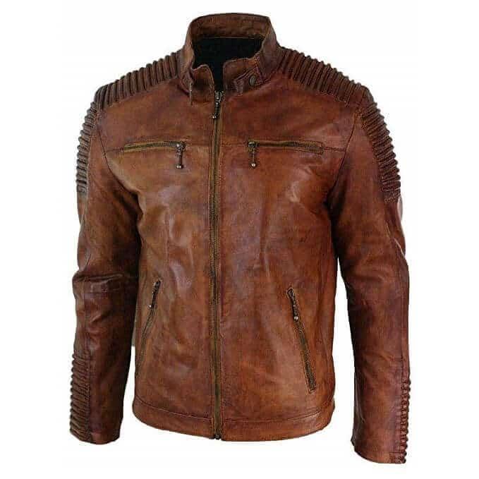 Men Leather Jackets Designs #JAM004