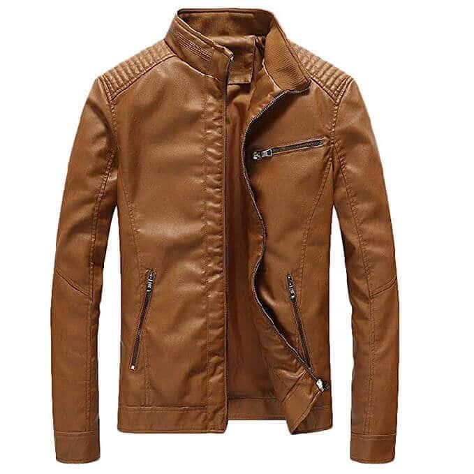 Men Leather Jackets Designs #JAM005